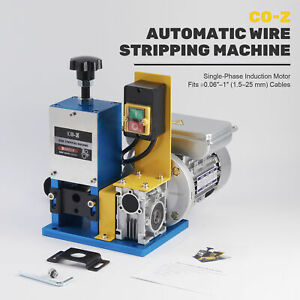 Electric Wire Stripping Machine Copper Metal Recycle Tool Cable Peeling Stripper