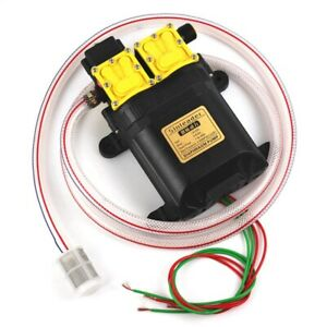 12v Double core Electric Sprayer Motor Head Sprayer Parts Pump Head 12v Du M2u5