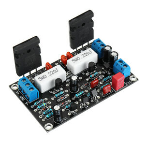 2sc5200 2sa1943 Mono Channel 100w Hifi Audio Amplifier Board After stage Power A