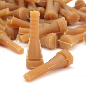 72pcs Chicken Plucker Glue Stick Picker Poultry Fingers Duck Goose Hen Plucking