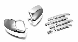 For 2004 2008 Nissan Maxima Chrome Door Handle mirror Covers W smart Key