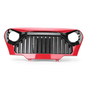 Front Gladiator Bumper Mesh Grill Grille For 1997 06 Jeep Wrangler Tj New