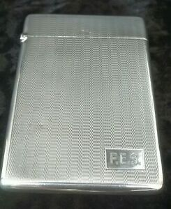 Vintage Deakin Francis Quality Silver Card Case 1930
