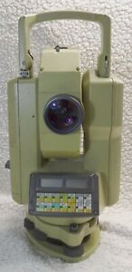 Wild Heerbrugg Leica Wild Tc1000 Total Station Surveying With Carry Case