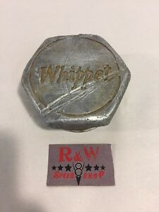 Vintage 1920 s Whippet Auto Wheel Grease Cap Dust Cover