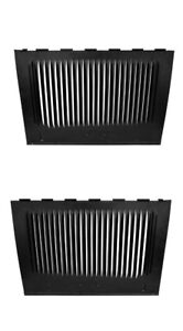 Pair 2 1932 Ford Louvered Hood Sides Fits All Car Truck Models Right Left