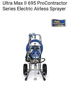 Graco Ultra Max Ii 695 Electric Airless Paint Sprayer