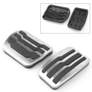 Gas Brake Foot Pedal Pad Cover For Ford F150 2011 2012 2013 2014