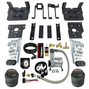 Air Bag Suspension Tow Kit White On Board Control For 2011 16 Ford F250 F350 4x4