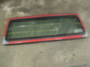 Jeep Wrangler Tj 97 02 Factory Windshield Frame Bad Glass 12