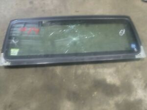 Jeep Wrangler Tj 97 02 Factory Windshield Frame Bad Glass 14