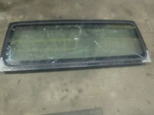 Jeep Wrangler Tj 97 02 Factory Windshield Frame Bad Glass 18