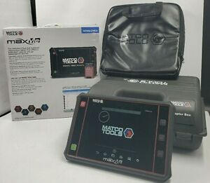Matco Tools Diagnostic Scanner Maxme With Adapter Set