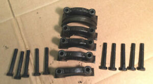 1967 1968 1969 Other Ford Mustang 302 Engine Block Main Bearing Caps Bolts Set