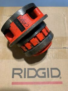 Ridgid 12 r 37410 Manual Threader Die Head 1 1 2 In Npt Free Shipping 700 12r