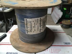 2000ft 14 Awg High Temperature Wire Plated Silicone Glass Braid 150c 600v 5485