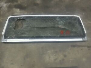 Jeep Wrangler Tj 97 02 Factory Windshield Frame Bad Glass 22