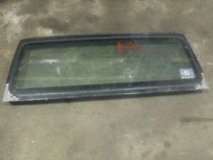 Jeep Wrangler Tj 97 02 Factory Windshield Frame Bad Glass 23
