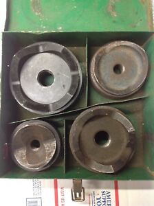 Greenlee 2 2 1 2 3 4 Round Metal Knockout 7304 Set Punch Die Set 6372