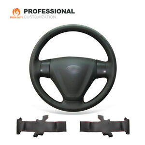 Diy Leather Steering Wheel Cover For Hyundai Accent Getz facelift Kia Rio Rio5