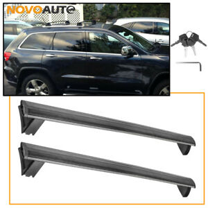 Roof Rack Cross Bars For 11 19 Jeep Grand Cherokee Luggage Rack W Side Rails