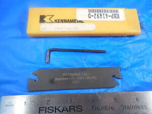 New Kennametal Pl Dsb4 340 105 Separator Blade Cut Off Parting 3 32