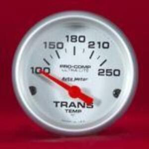 Auto Meter 4357 Ultra Lite Pro Comp Electric Transmission Temp Gauge 100 250 F