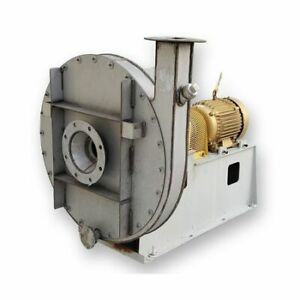 414 Cfm 55 quot Sp 210f 20 Hp Twin City High Pressure Radial Blower Hro