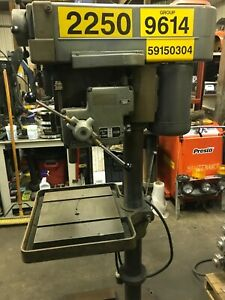 Clausing 20 Drill Press Model 2275 Variable Speed Power Feed Will Ship