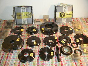 Lot Of 11 Cnc Edgebander Cutter Head Moulder Biesse Iberus Courmatt Wood
