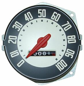 1948 1949 1950 Ford Truck Speedometer W Backing Plate Replaces Ford 7rc 17255 a