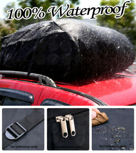 Heavy duty Cargo Waterproof Bag Luggage Carrier Car Tail Hitch Rack Storage