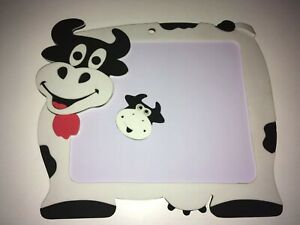 Magnetic Cow Whiteboard With Magnet New