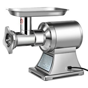 Commercial Grade Meat Grinder Stainless Steel Heavy Duty