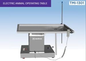 Veterinary Surgical Operating Table Model Tmi 1301 Electric Lift Up And Down