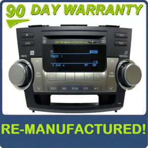 Toyota Venza Re manufactured Jbl Radio Mp3 6 Cd Changer 2009 2010 2011 09 10 11