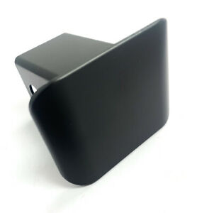 Blank Black Plastic Trailer Tow Hitch Plug Cover For 2 Hitch Receivers