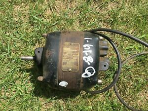 Vintage Antique Ge 26136 Ac Electric Motor Sa 147 Db 5 4 Amp 1 4 Hp 1725 Rpm