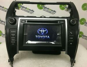 2012 2013 Toyota Camry Touch Screen Display Lcd Radio Mp3 Aux Cd Player Oem