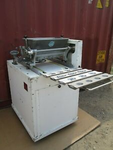 Rhodes Bakery Equipment Co Cookie Making Machine Pu96 W Dies Commercial Kitchen