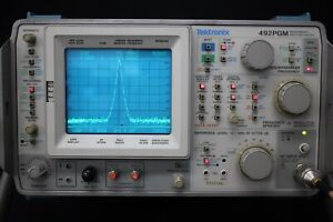 Tektronix 492pgm 21ghz Spectrum Analyzer