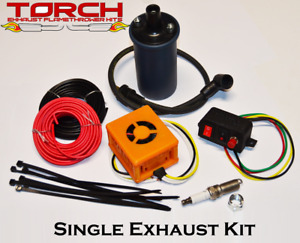 Torch Single Exhaust Flame Thrower Kit American Muscle Hotrod Jdm Universal