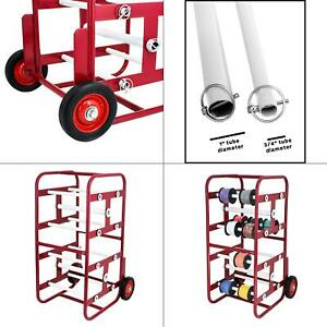 Transportable Multiple Axel Wire Reel Caddy