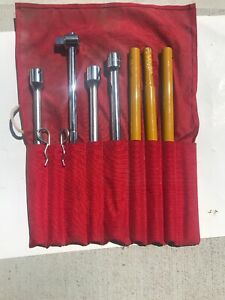 7 Pcs Set Tools 3 4 Proto Challenger 1818 T Bar Stanley Handle Breaker Pipe