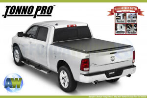 Tonno Pro Roll Up Tonneau Cover For Nissan Titan 5 6ft Bed 2004 2015