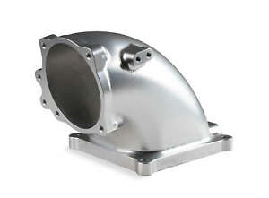 Holley Billet Aluminum 4500 Efi Throttle Body Intake Elbow For 86 95 Ford 5 0l