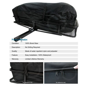 Tail Hitch Mount Rack Luggage Basket Cargo Carrier Storage Bag For Lexus