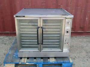 Market Forge Oven Model M2600he Commercial Resturant Kitchen Stainless Steel