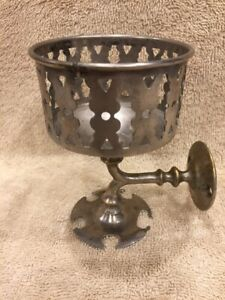 Antique Nickel Plated Brass Bathroom Fixture Cup Holder Tooth Brush Rack
