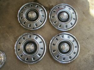68 Dart Charger Dodge 14 Inch Rally Wheel Style Hub Caps Oem Set Of 4